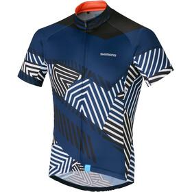 Shimano Climbers Fietsshirt korte mouwen Heren blauw